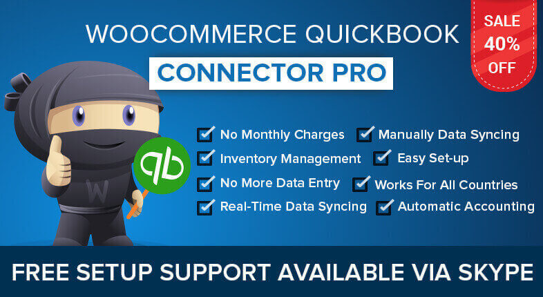 WooCommerce QuickBooks Connector Pro